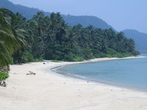 white sands beach on ko chang