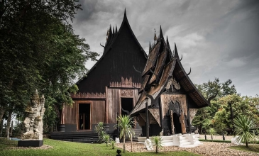 White Temple, Black House, Hot Springs - Chiang Mai