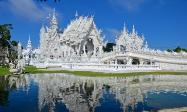 White Temple a Golden Triangle - Chiang Mai